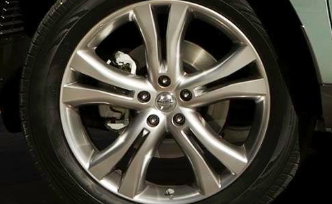 2012 Nissan Murano CrossCabriolet, Front tire., exterior, manufacturer