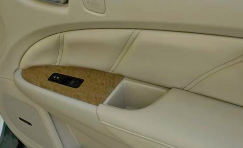 2012 Nissan Murano CrossCabriolet, Side Door., manufacturer, interior