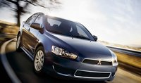 2012 Mitsubishi Lancer Evolution, Front quarter view., manufacturer, exterior