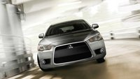 2012 Mitsubishi Lancer Evolution, Front View., exterior, manufacturer