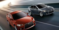 2012 Mitsubishi Lancer Evolution, Front quarter view., exterior, manufacturer