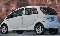 2012 Mitsubishi i-MiEV, Back quarter view., exterior, manufacturer, gallery_worthy