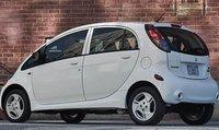 2012 Mitsubishi i-MiEV, Back quarter view., exterior, manufacturer
