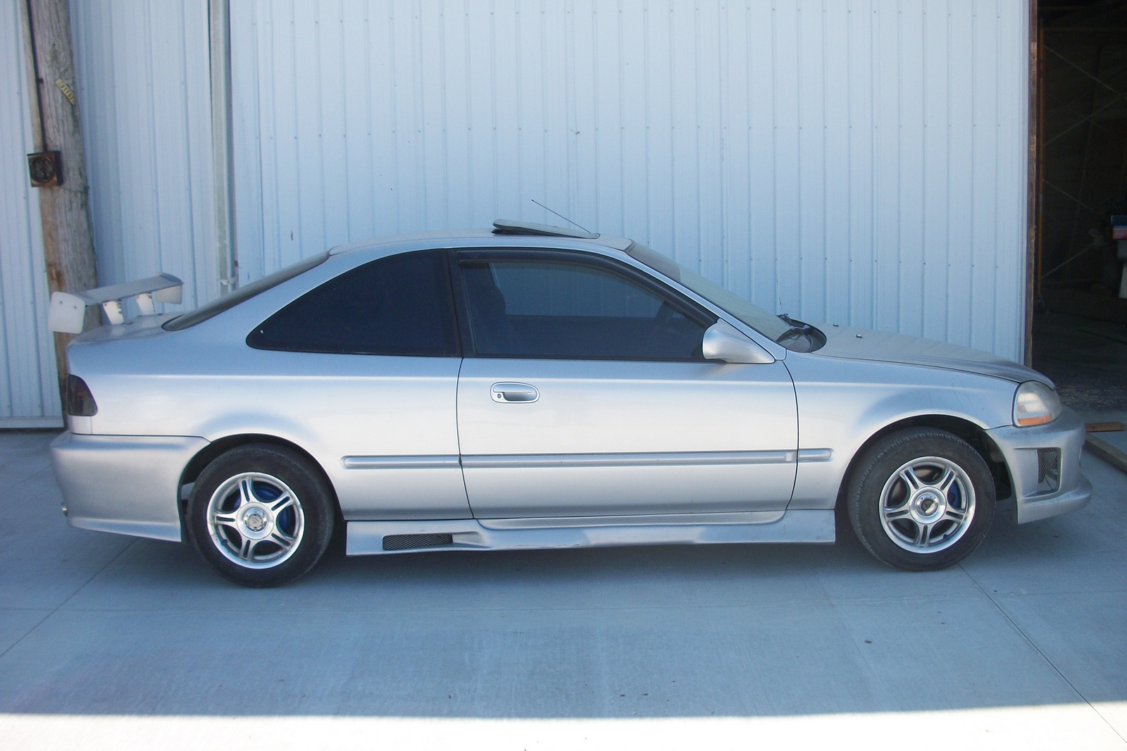 picture of 1997 honda civic ex coupe. Black Bedroom Furniture Sets. Home Design Ideas