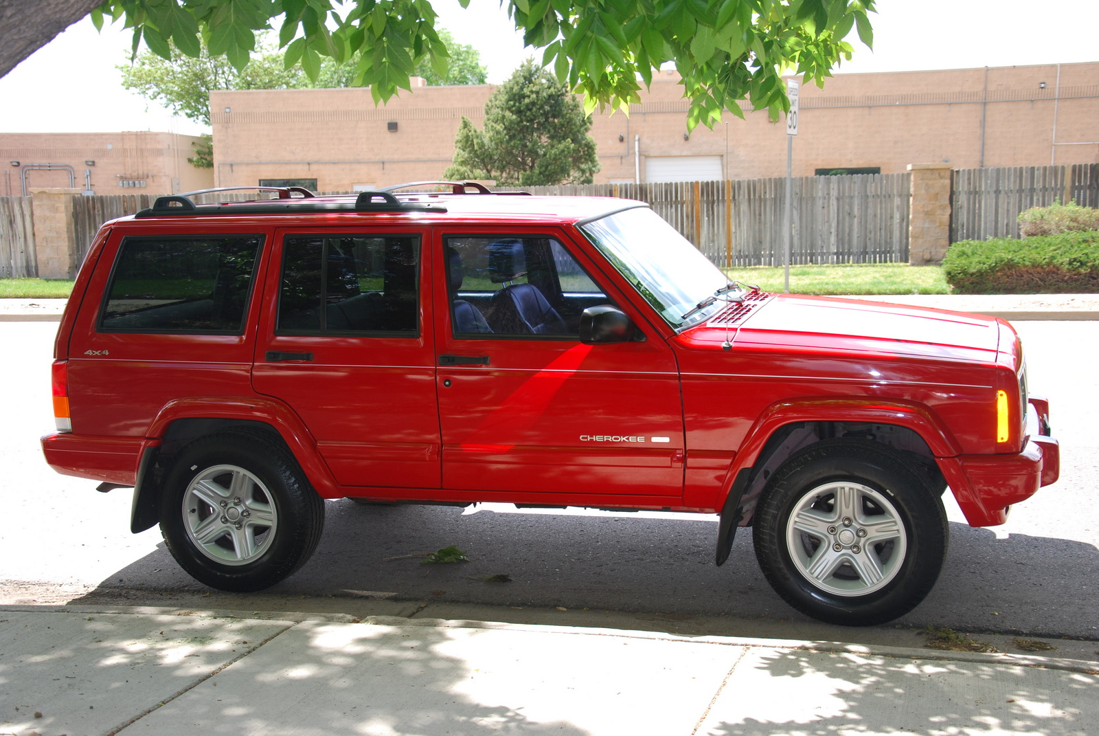 picture of 2000 jeep cherokee limited 4wd exterior. Black Bedroom Furniture Sets. Home Design Ideas