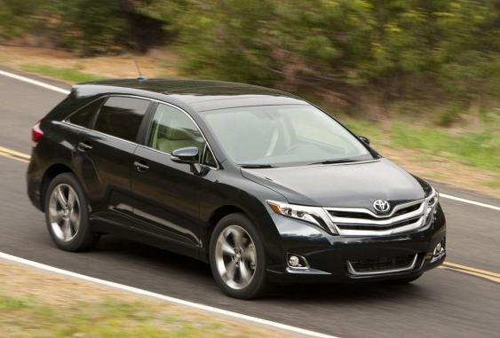 2013 Toyota Venza, Front quarter view, exterior, manufacturer