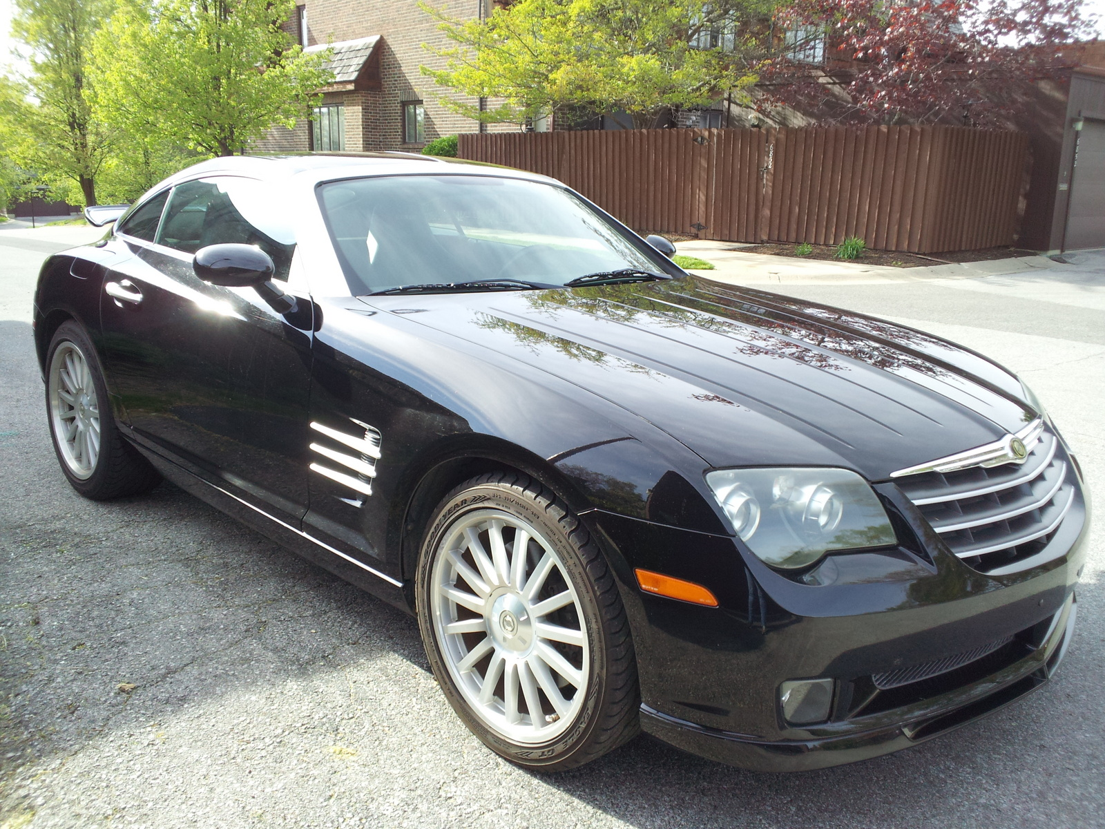 2006 chrysler crossfire srt 6 overview cargurus. Black Bedroom Furniture Sets. Home Design Ideas