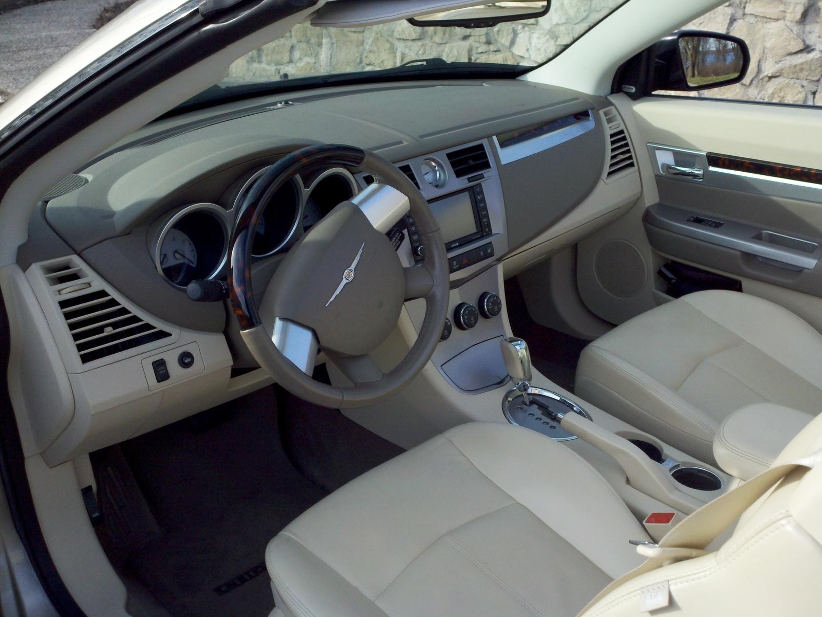 2008 Chrysler Sebring Interior Pictures Cargurus