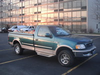 1998 Ford F-150 XLT 4WD LB, 1998 Ford F-150 2 Dr XLT 4WD Standard Cab LB picture, exterior