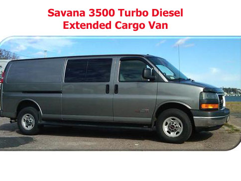 Picture of 2006 GMC Savana Cargo 3500 3 Dr Extended Van