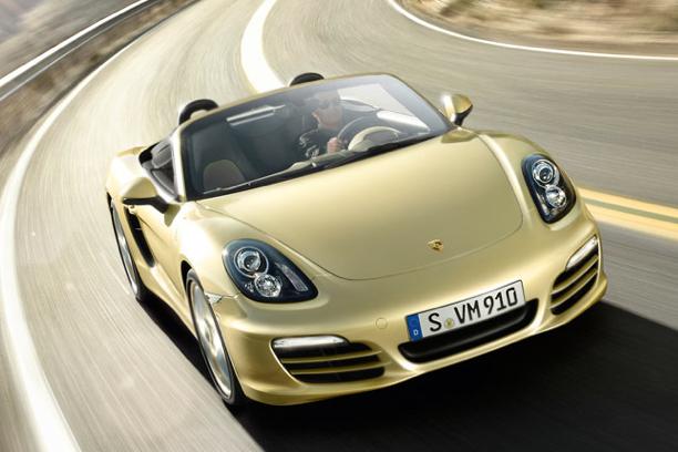 2013 Porsche Boxster, Front View. , exterior, manufacturer