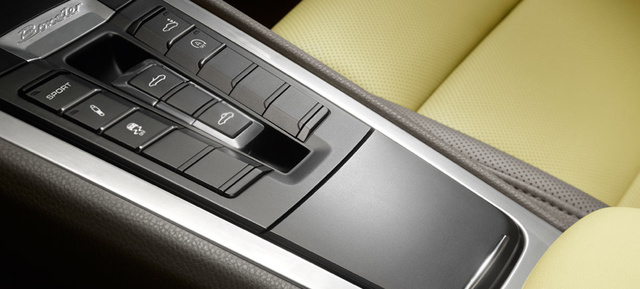 2013 Porsche Boxster, Center Console. , interior, manufacturer