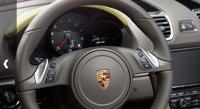 2013 Porsche Boxster, Steering wheel., interior, manufacturer