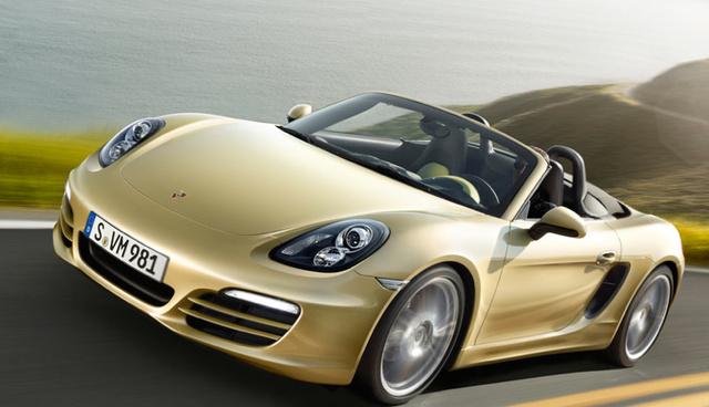 2013 Porsche Boxster, Front quarter view. , exterior, manufacturer