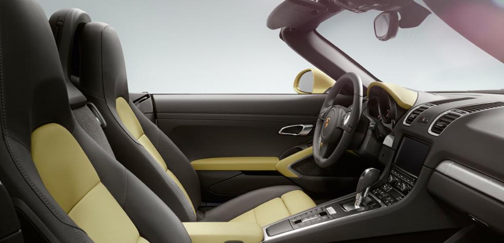2013 Porsche Boxster, Front Seat. , interior, manufacturer