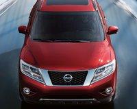 2013 Nissan Pathfinder, Front View. , exterior, manufacturer