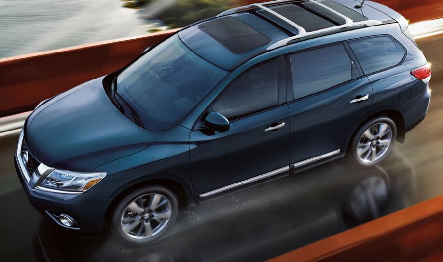 2013 Nissan Pathfinder, Front quarter view. , exterior, manufacturer