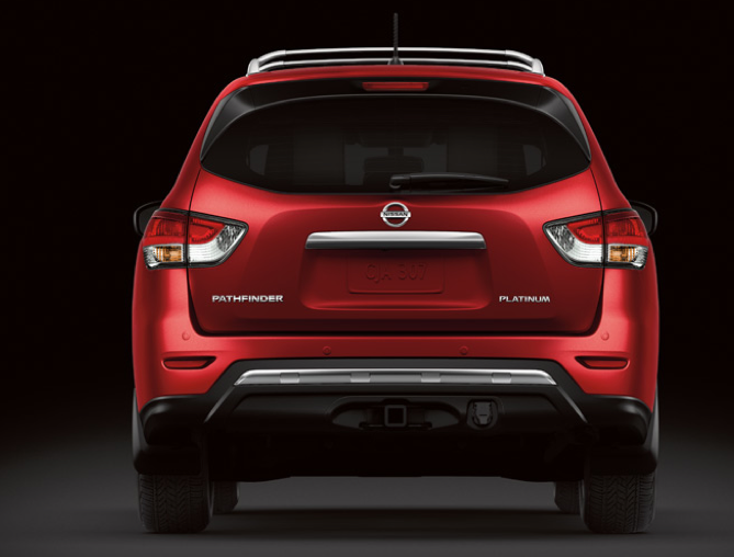 2013 Nissan Pathfinder, Back View. , exterior, manufacturer
