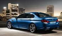 2013 BMW M5, Back quarter view. , exterior, manufacturer