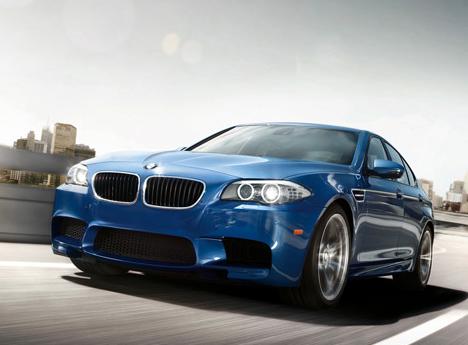 2013 BMW M5, Front quarter view., exterior, manufacturer