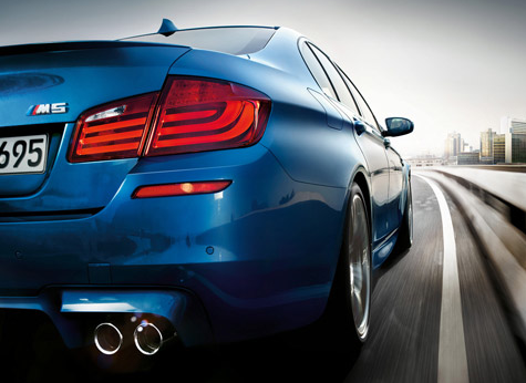 2013 BMW M5, Tail light. , manufacturer, exterior