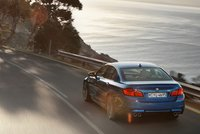2013 BMW M5, Back View. , manufacturer, exterior