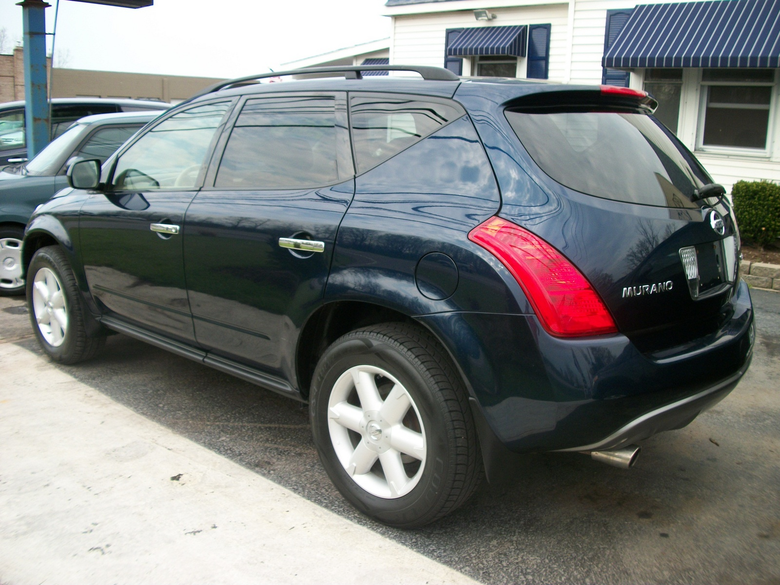 2005 nissan murano sl awd overview. Black Bedroom Furniture Sets. Home Design Ideas