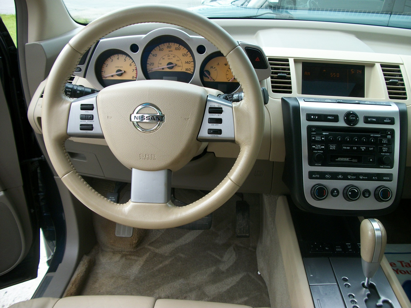 2005 Nissan Murano Interior Pictures Cargurus