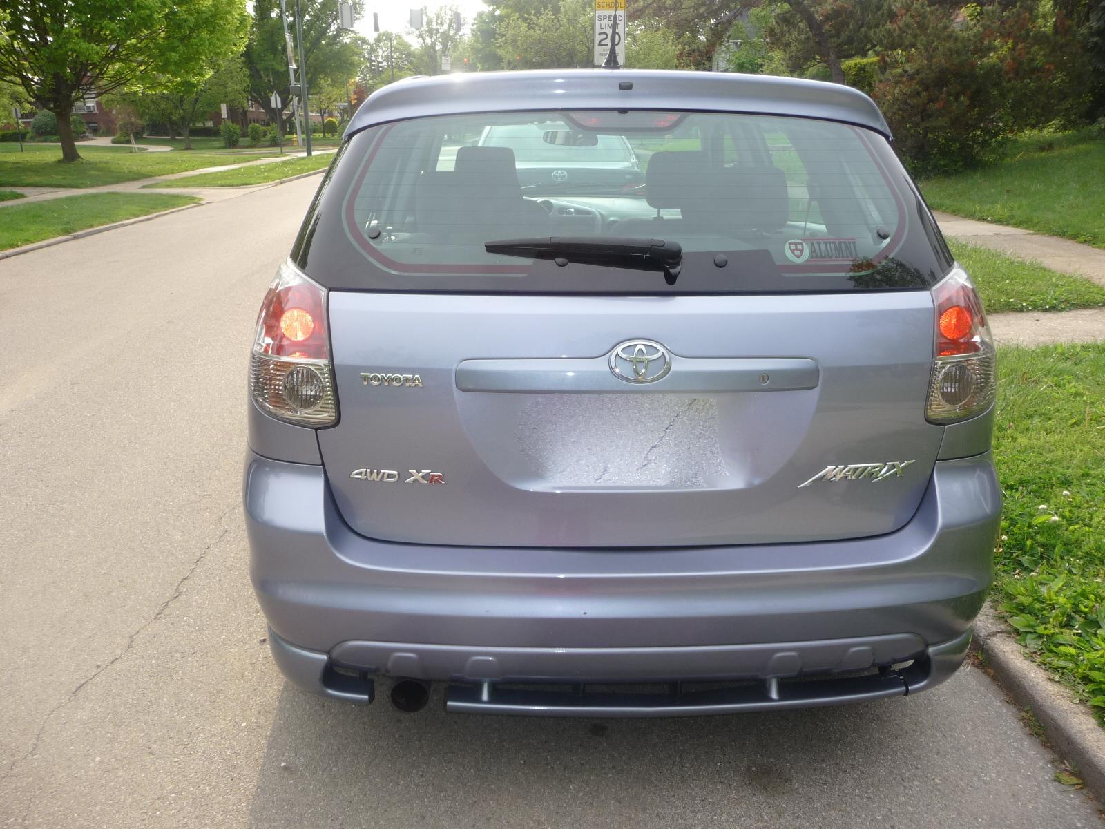 2006 Toyota Matrix - Exterior Pictures