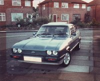 1983 Ford Capri Picture Gallery