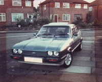 1983 Ford Capri Overview