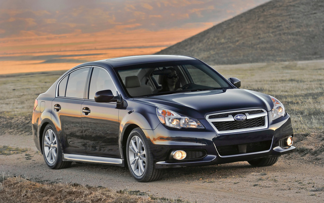 2013 Subaru Legacy, Front-quarter view, exterior, manufacturer, gallery_worthy