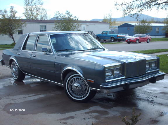 1986 Chrysler Fifth Avenue Pictures Cargurus