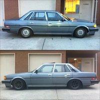 1987 Toyota Cressida, rs watts, exterior