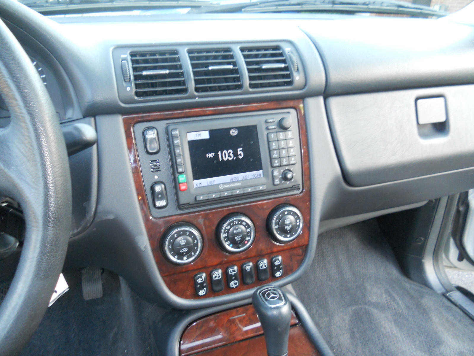 Picture of 2003 mercedes benz m class ml350 interior for 2003 mercedes benz ml 350