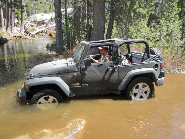 2011 Jeep Wrangler Sport 4WD, Testing the Waters, exterior, gallery_worthy