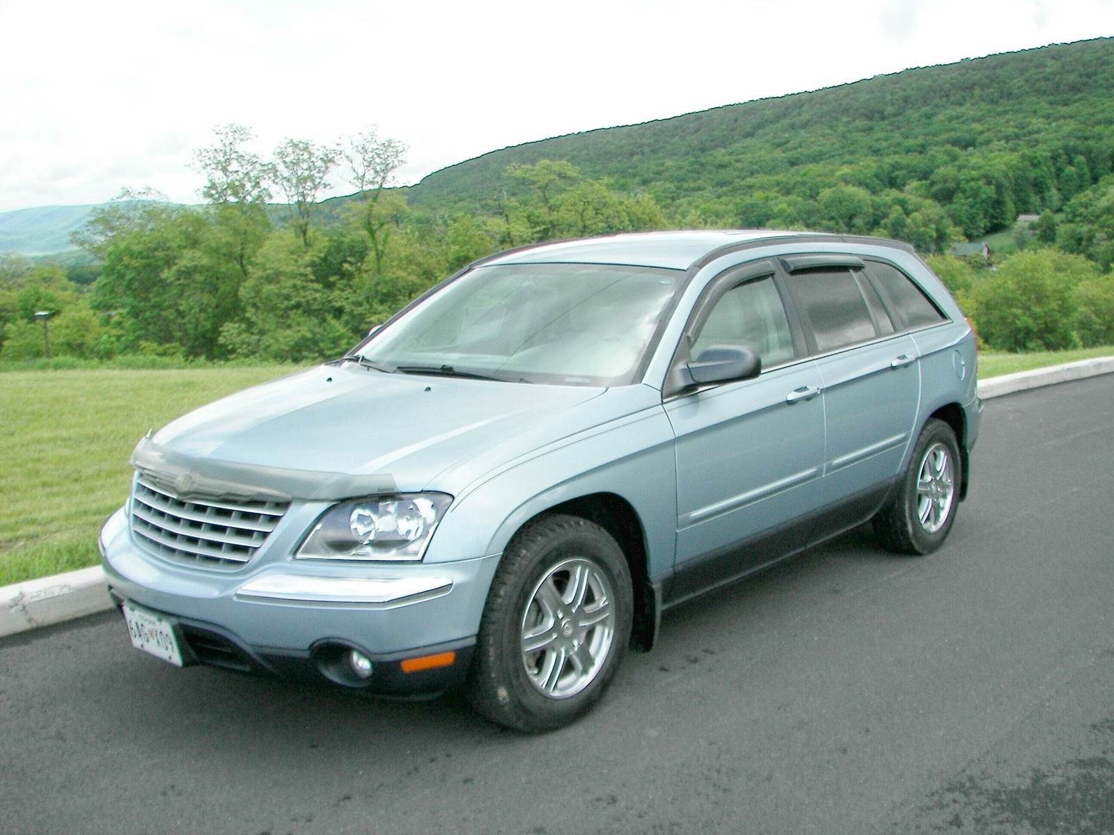 2004 chrysler pacifica base picture exterior. Cars Review. Best American Auto & Cars Review