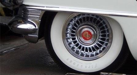 1955 Cadillac DeVille, 55 Cadillac Sabre Wheel-1, exterior, gallery_worthy