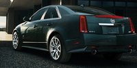 2012 Cadillac CTS-V, Back quarter view. , exterior, manufacturer, gallery_worthy