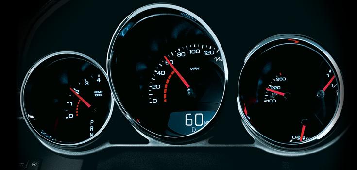2012 Cadillac CTS-V, Instrument gages. , interior, manufacturer