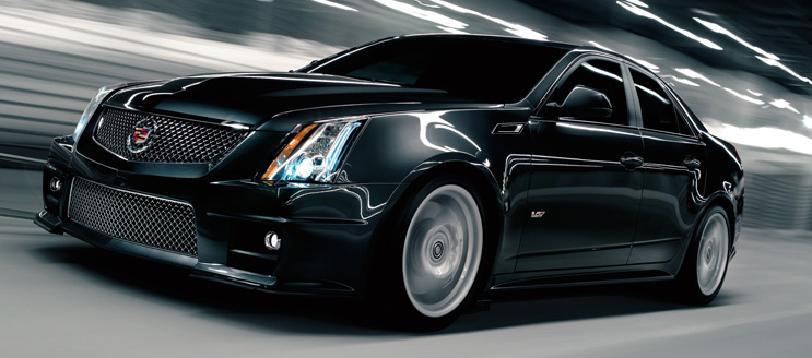 2012 Cadillac CTS-V, Front quarter view. , exterior, manufacturer