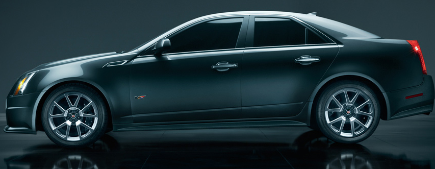 2012 Cadillac CTS-V, Side View. , exterior, manufacturer