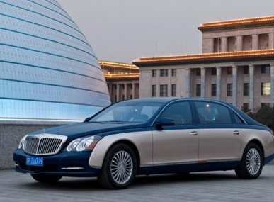 2012 Maybach 62, Front quarter view copyright AOL Autos., exterior, manufacturer