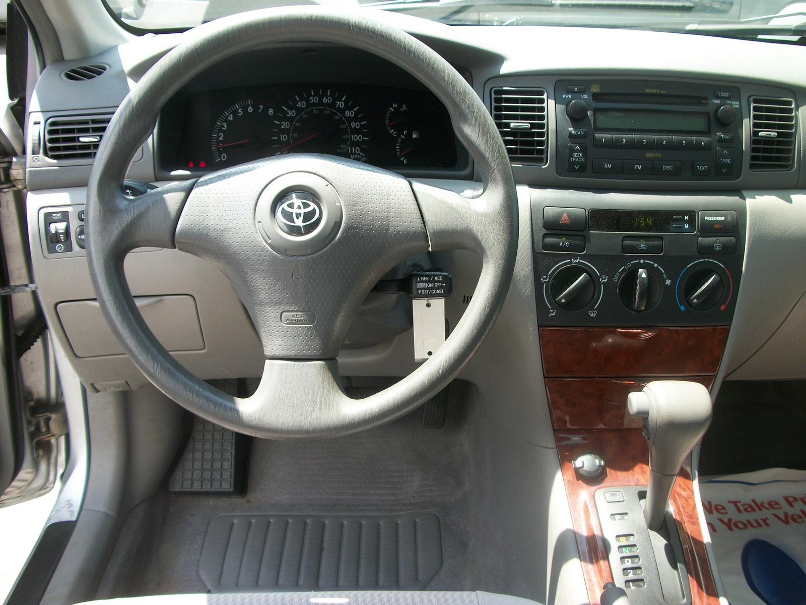 2005 toyota corolla interior parts