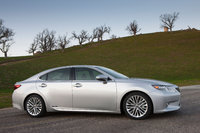 2013 Lexus ES 300h, Front-quarter view, exterior, manufacturer