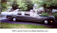1989 Lincoln Town Car Picture Gallery