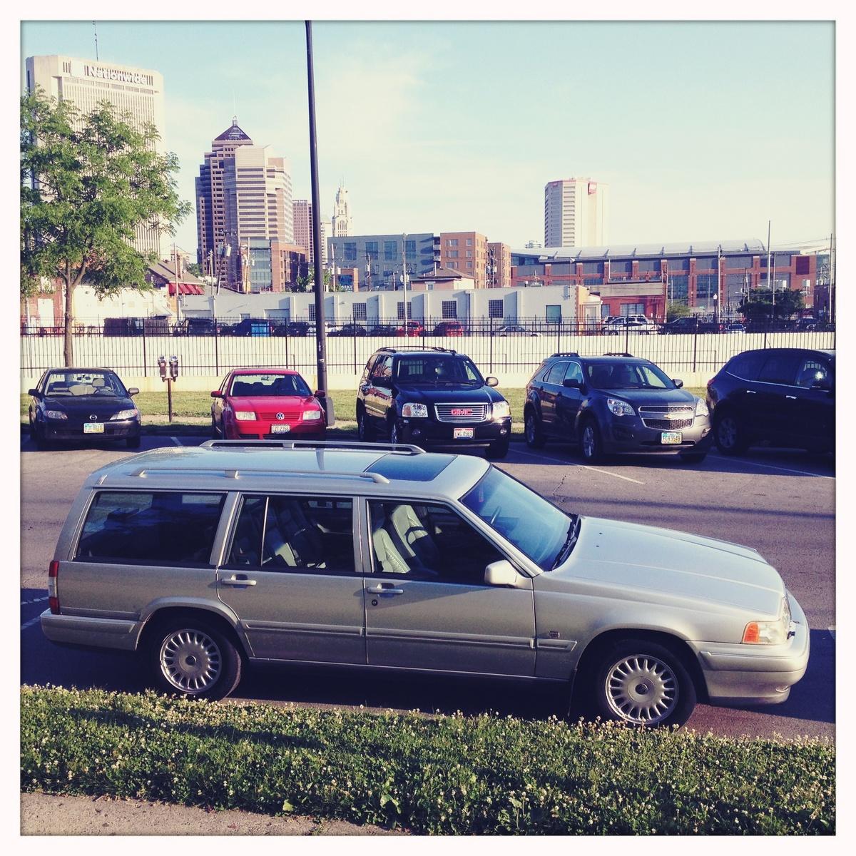 1997 Volvo 960 4 Dr STD Wagon, 97 Volvo 965, exterior
