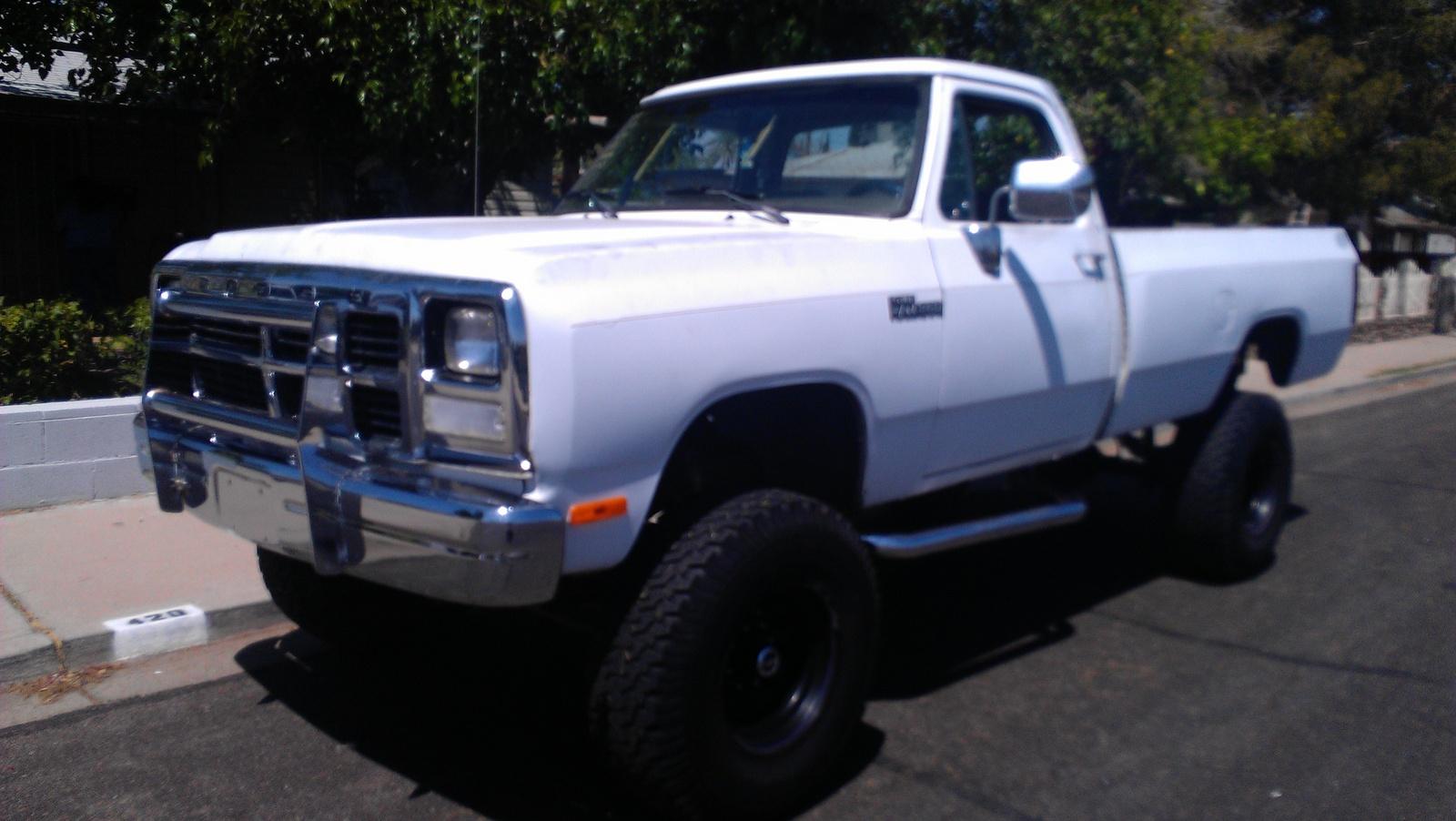 Dodge Ram Dr Le Wd Standard Cab Lb Pic on 1991 Dodge Dynasty Truck