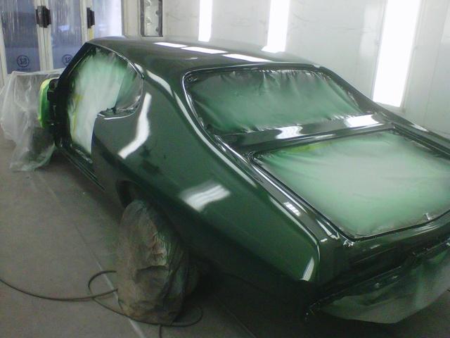 1969 Pontiac Le Mans, finally , exterior