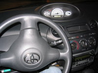 2005 Toyota ECHO 4 Dr STD Sedan picture, interior